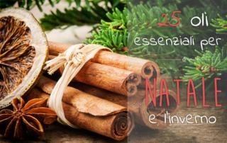 Oli Essenziali Natale e inverno