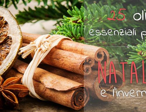 25 Oli Essenziali per Natale e l'inverno